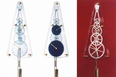Pictures of Absolut clocks - Models Crystal, Cathedral, Murano, Regulateur Squelette